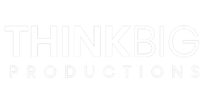 The Homepage Logo On THINKBIG Productions Website